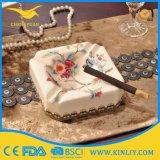 Cheap Ceramic Smokeless Ashtray Customize Table Cigarette Ashtray Wholesale