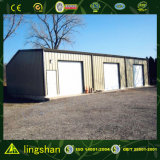 Metal Roofing Garage with SGS Certification From Lingshan (L-S-118)