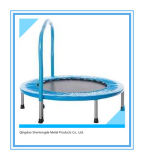 Mini Trampoline with Bar Indoor Fitness Toy