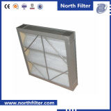 Pleated Cardboard Prime Filter for Air Cleaning
