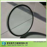 Round Clear Flat Tempered Glass Cover for Lighting