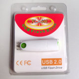 Hot Plastic USB Flash Drive with Blister (YT-1160)