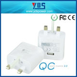 UK Fast Charger Quick 1.0 USB Charger with 1 USB
