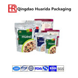 Customer Printed Plastic Food Packaging Zipper Bag