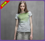 Fashion Sexy Cotton Printed T-Shirt for Women (W275)