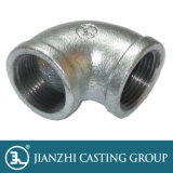 """1/8""""-6"""" UL/FM/Ce Threaded Malleable Iron Pipe Fitting 90 Elbow"""