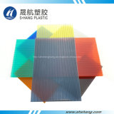 Different Colors Plastic Polycarbonate Hollow Plate for Decoration