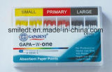 Gapa-W One Depth mm Marked Absorbent Paper Point