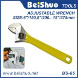 Adjustable Wrench Spanner Hardware Hand Tools with Colorful Handle
