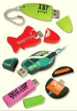 Free Sample! ! Customized PVC USB Flash Drive Memory Stick