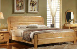 Solid Wooden Bed Modern Beds (M-X2236)