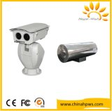 Multi-Functional Security PTZ IP Temperature Detection Thermal Camera 10m