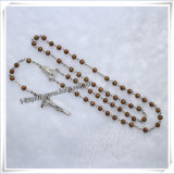 Wood Rosary, Glass Rosary, Metal Rosary, Cloisonne Rosary (IO-cr004)