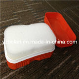 Double Side Sponge Leather Shoe Brushes with Polish
