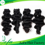 Human Hair Manufacturers Distribute 7A Virgin Brazilian Human Hair Weft