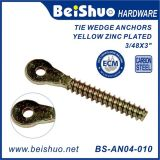 Carbon Steel Tie Wedge Anchors Thread Screws