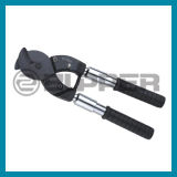 (TC-125S/250S) Manual Hand Ratchet Cable Cutting Tool with Telescopic Handlle
