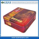 Square Tin Cake Box