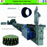 HDPE PP Hollow Wall Winding Plastic Pipe Production Extrusion Line