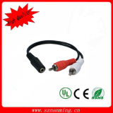 3.5mm Female to RCA Male Audio Cable (NM-DC-243)