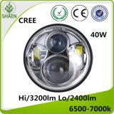 Auto LED Headlight 40W Hi-Lo Beam LED Motorcycle Headlight