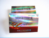 Gold Foil Paper Printing Sex Pill Packaging Box