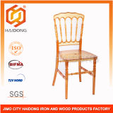 Clear Amber Polycarbonate Resin Napoleon Chairs