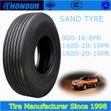 Sand tire 1400-20 1600-20 nylon sandtire