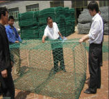 2*1*1m Hexagonal PVC Coated Gabion Basket /Gabions Box Price