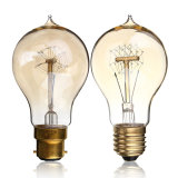 Vintage Edison Bulb E27 B22 40W 60W Antique Filament Lamp