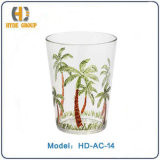 Acrylic Cup with Intelligent Design (HD-AC-14)
