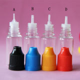 5ml/10ml/15ml/20ml/30ml E Liquid Dropper Bottle with Child Proof Cap, 10ml Plastic Dropper Bottle