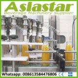 6000bph 3-in-1 Glass Bottle Concentrate Juice Beverage Bottling Production Line