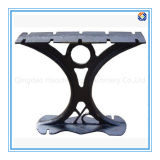 Metal Garden Bench End by Sand Casting Cast Iron /Aluminum