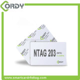 Promotion 13.56MHz PVC RFID MIFARE NTG213 NFC business card
