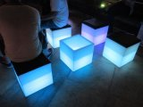 LED Lighting Bar Stool Furniture (chair and table)