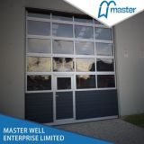 Waterproof Mirror Garage Door with Plastic Window Price