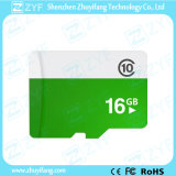 White and Green 16GB Class 10 Micro SD Memory Card (ZYF6027)