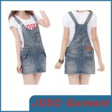 Girls Cute Braces Denim Skirts (JC2036)