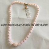 Sweet Pink Necklace for Lovely Girl Fashion Jewelry