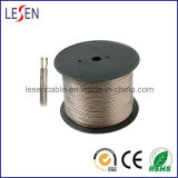 Speaker Cables, Made of Transparent PVC, for Audio Device/Speaker/Electrical Equipment
