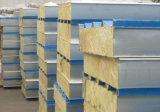 Easy Installation Fireproof Rockwool/Glass Wool Wall Panel for Houses