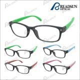 Popular Way Farer Plastic Reading Glasses with Rubber Finishing (RP461013)