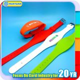 ISO 14443A Ntag203 RFID Dual Frequency Bracelet Silicone Wristband