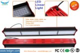 Aluminum Alloy Housing Balck+Red 50W 100W 150W 200W Modular LED Linear Light Warehouse Lighting