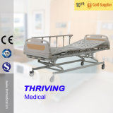 Three Crank Manual Hospital Bed