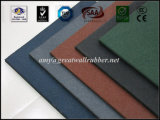 300*300*10/15/20/25mm Small Square Rubber Tile for Outdoor Use