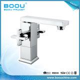 (BQ5325-1AJ) Boou Square Double Handle Undercounter Basin Faucets