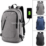 2018 New Design 1X Polyester Backpack USB Charging External Port Interface Travel Knapsack Large Zh-Cbj22 (11)