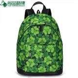 2017 New Fashion Polyester Knapsack Backpack School Book Bag